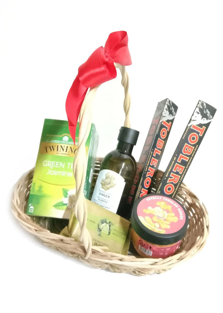 Spa Body Shop Gift Basket