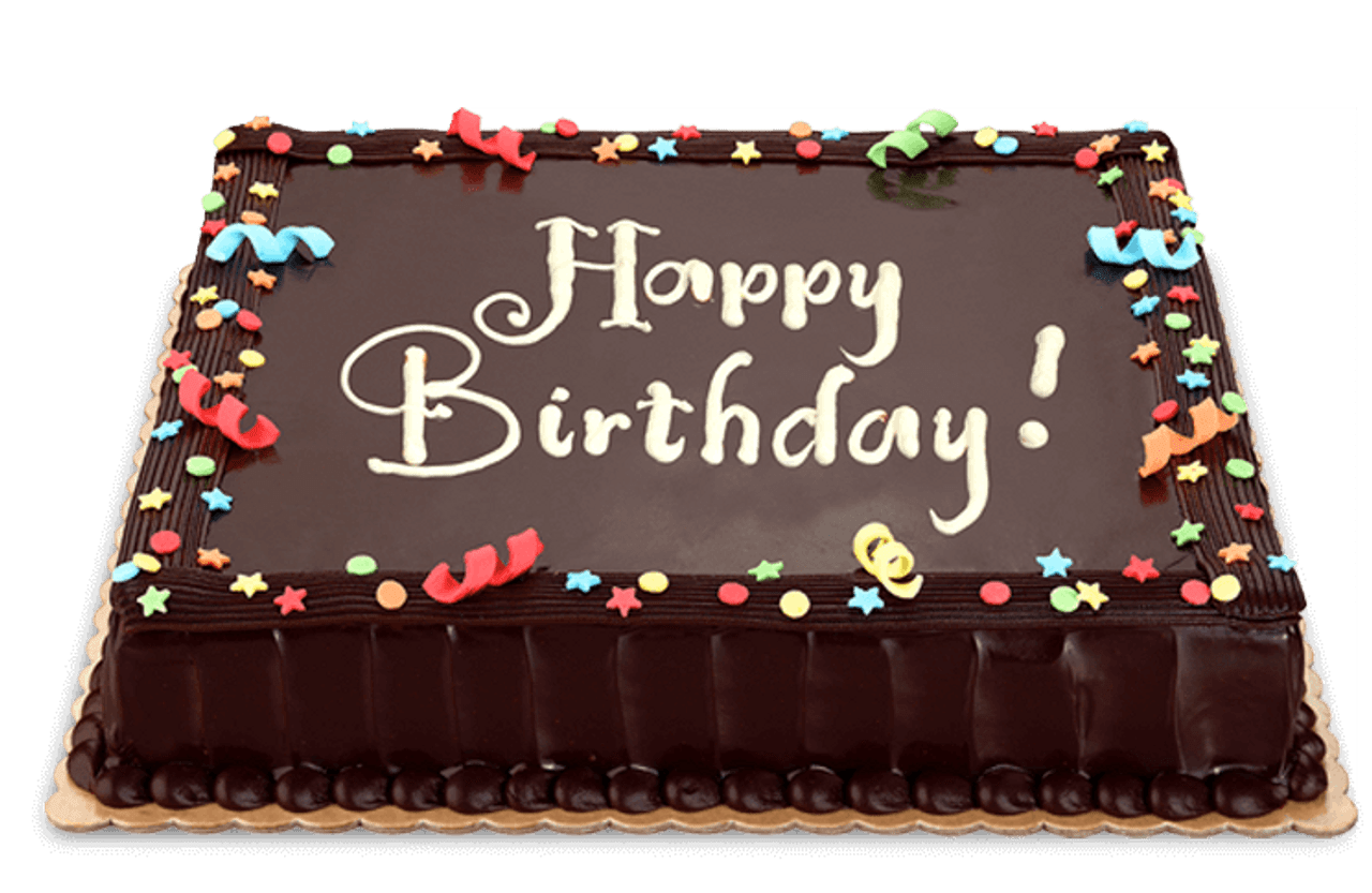 Dedication Chocolate Cake Large (12x12) - Personalize it with your message!