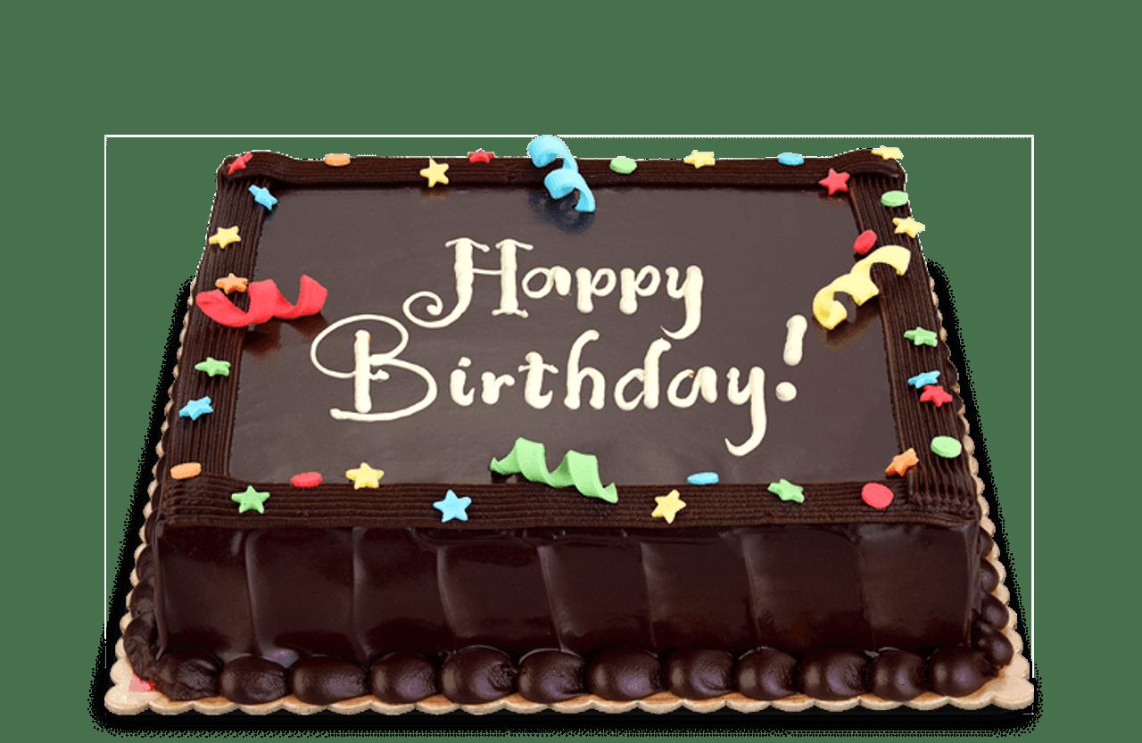 Dedication Chocolate Cake Junior (8x8)
