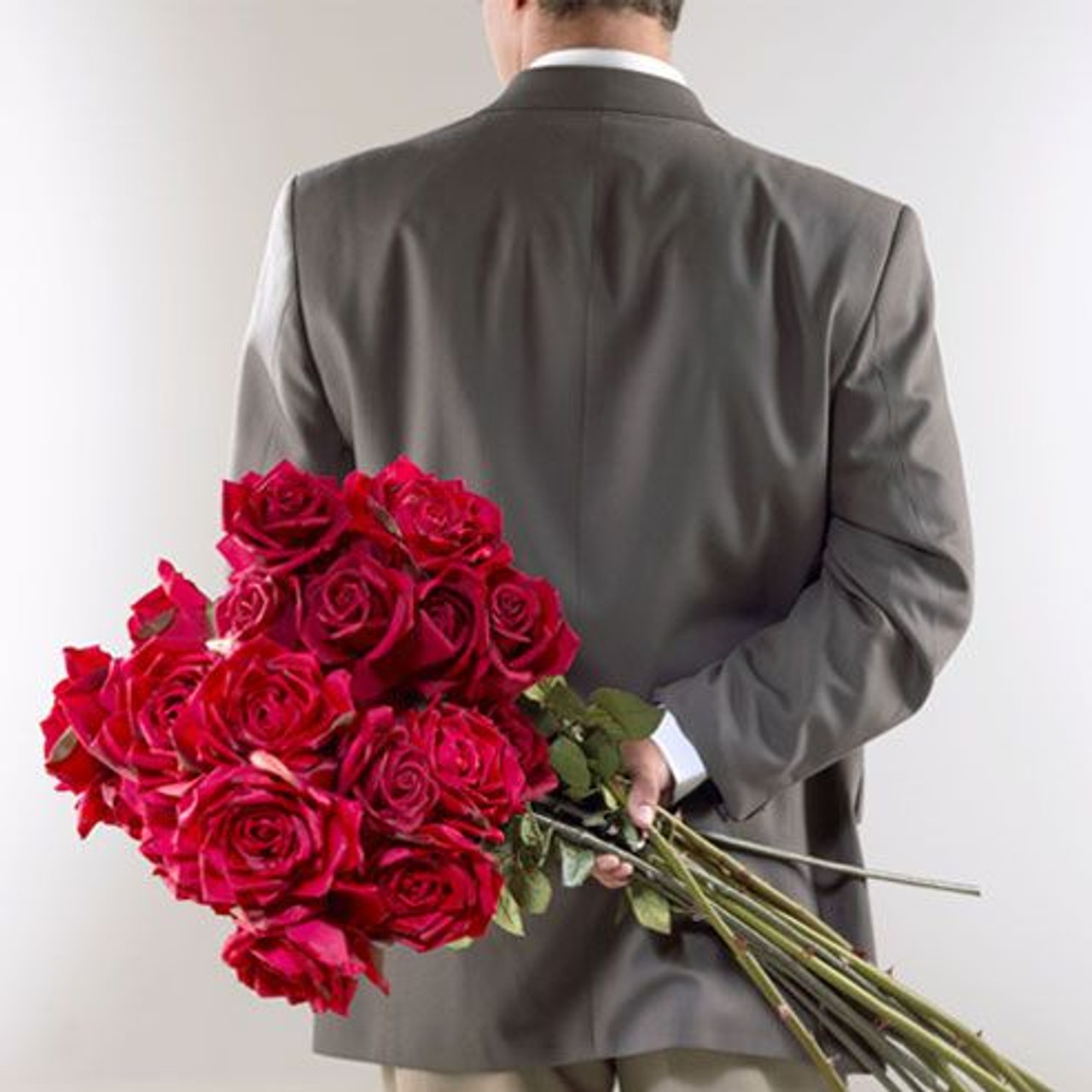 Year of Romance (12 bouquets of roses)