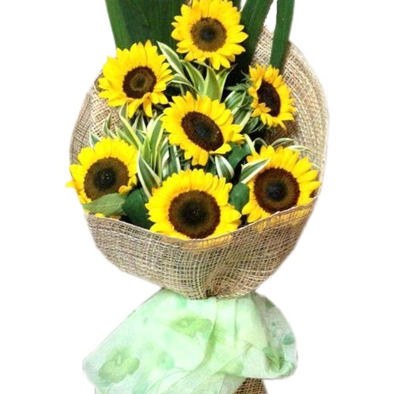 7 Sunflower Bouquet