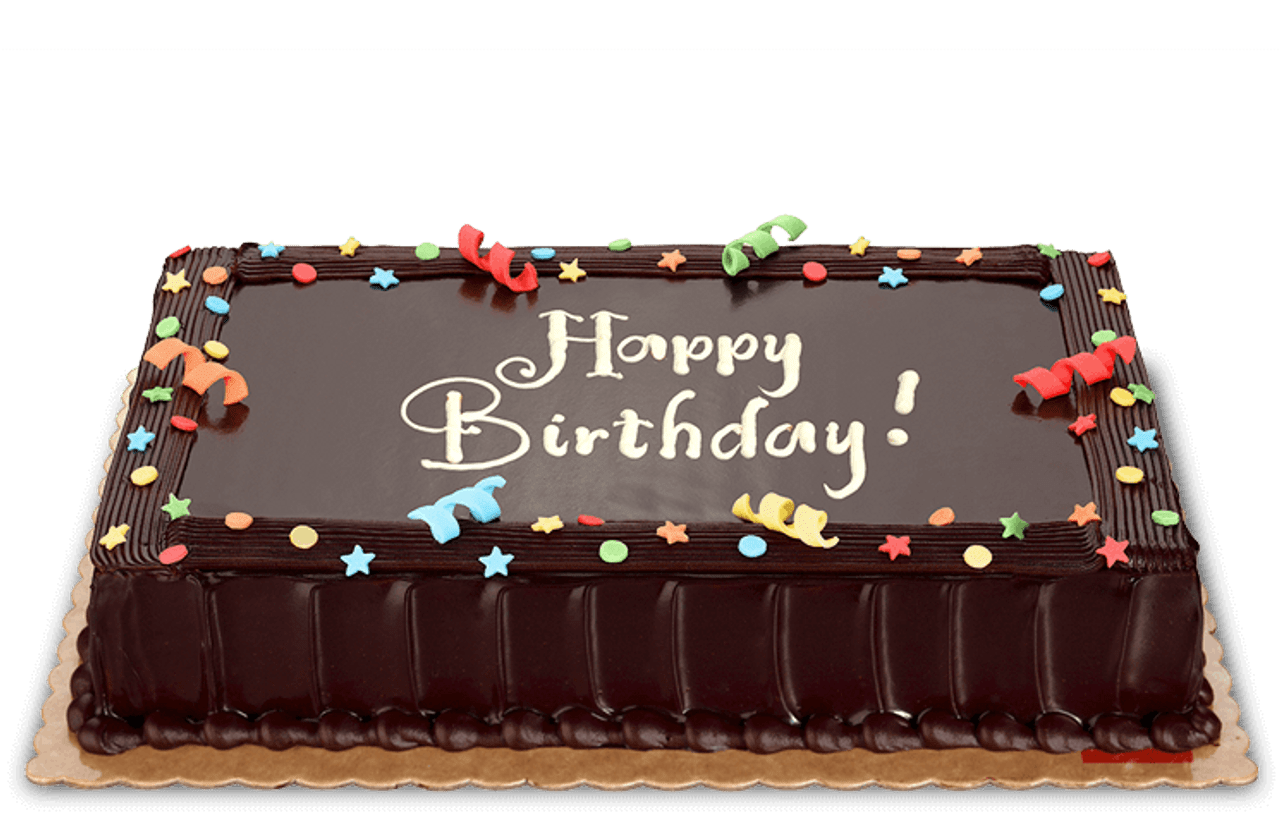 Dedication Chocolate Cake Medium (8x12)