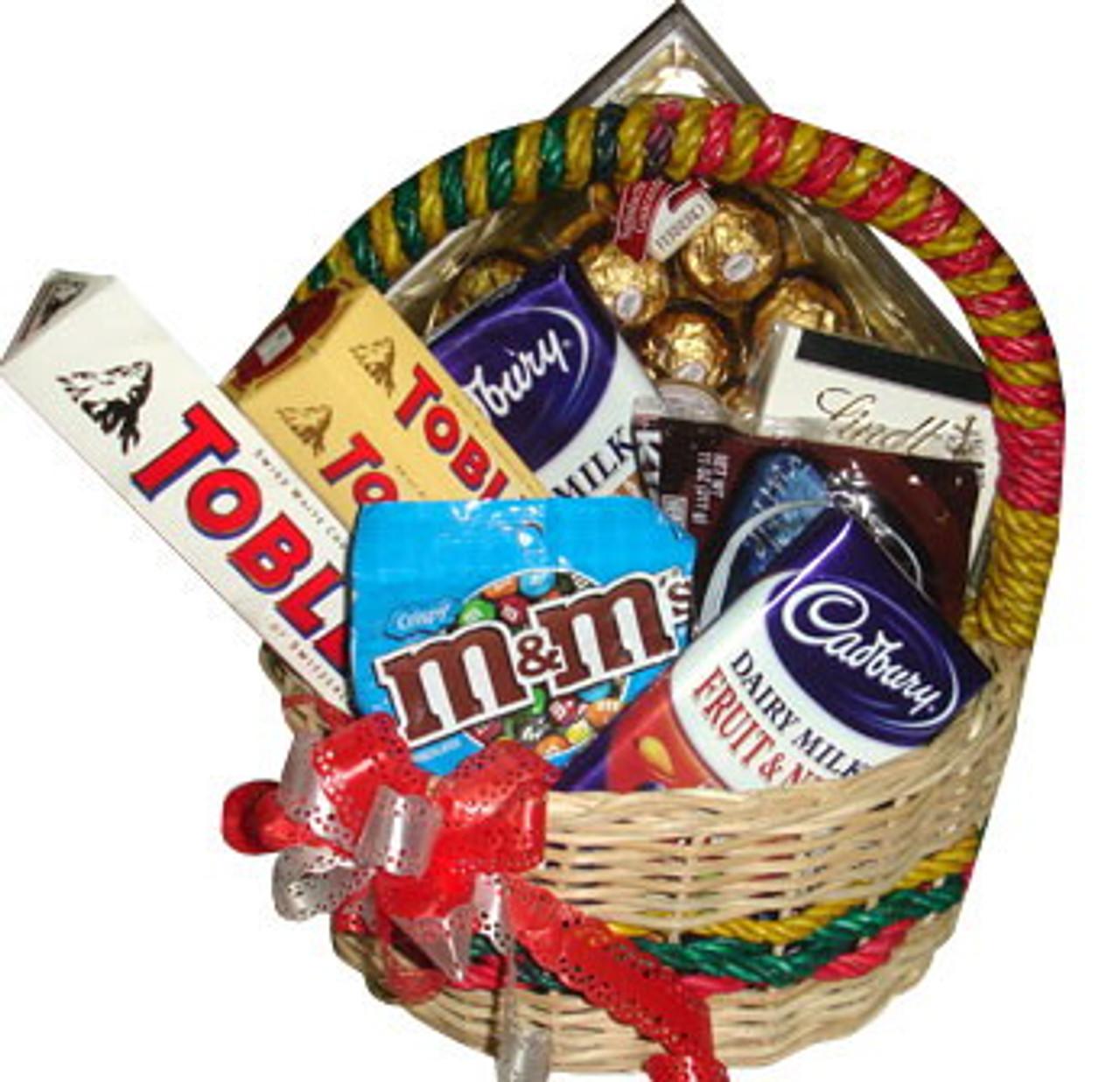 Sweet Tooth Premium Chocolate Basket