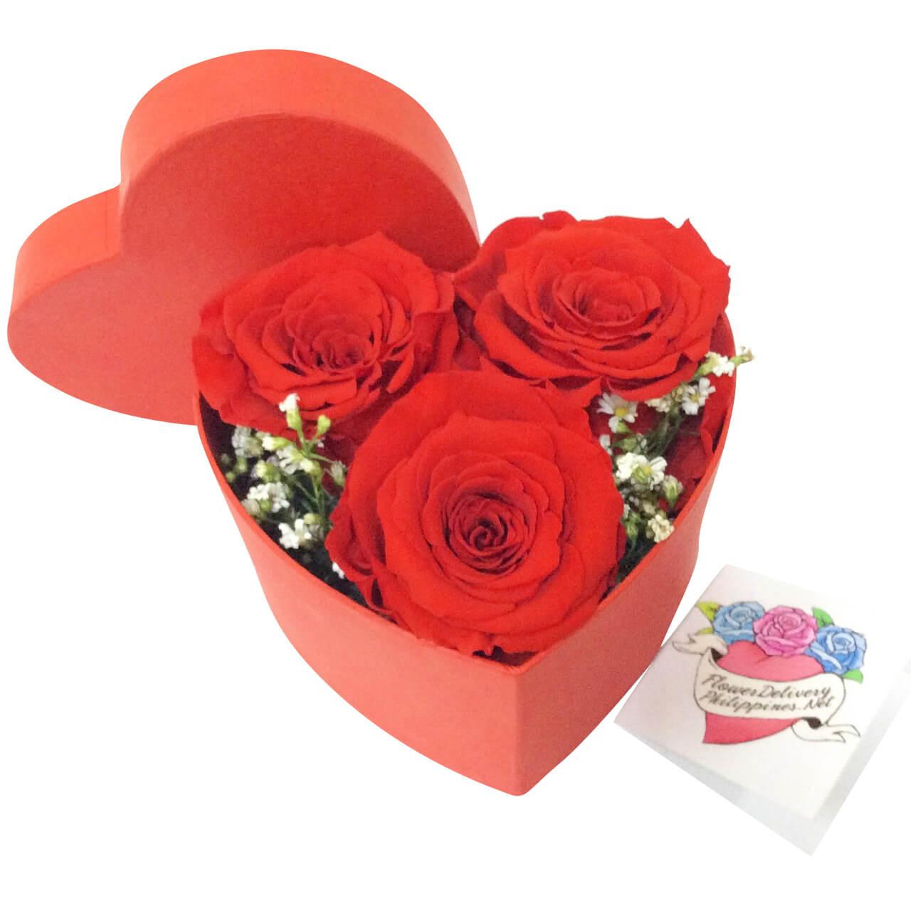 Ecuadorian Roses Love Box