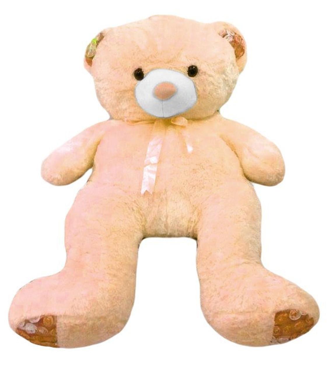Human size 4'6 ft. Cream Teddy Bear - Best Seller