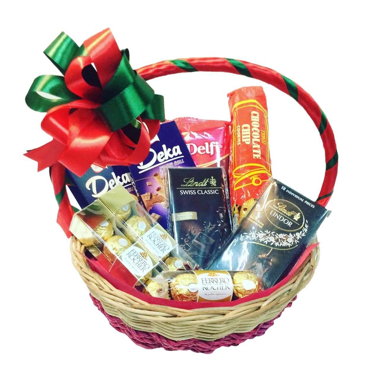 Premium Chocolate Lovers Basket