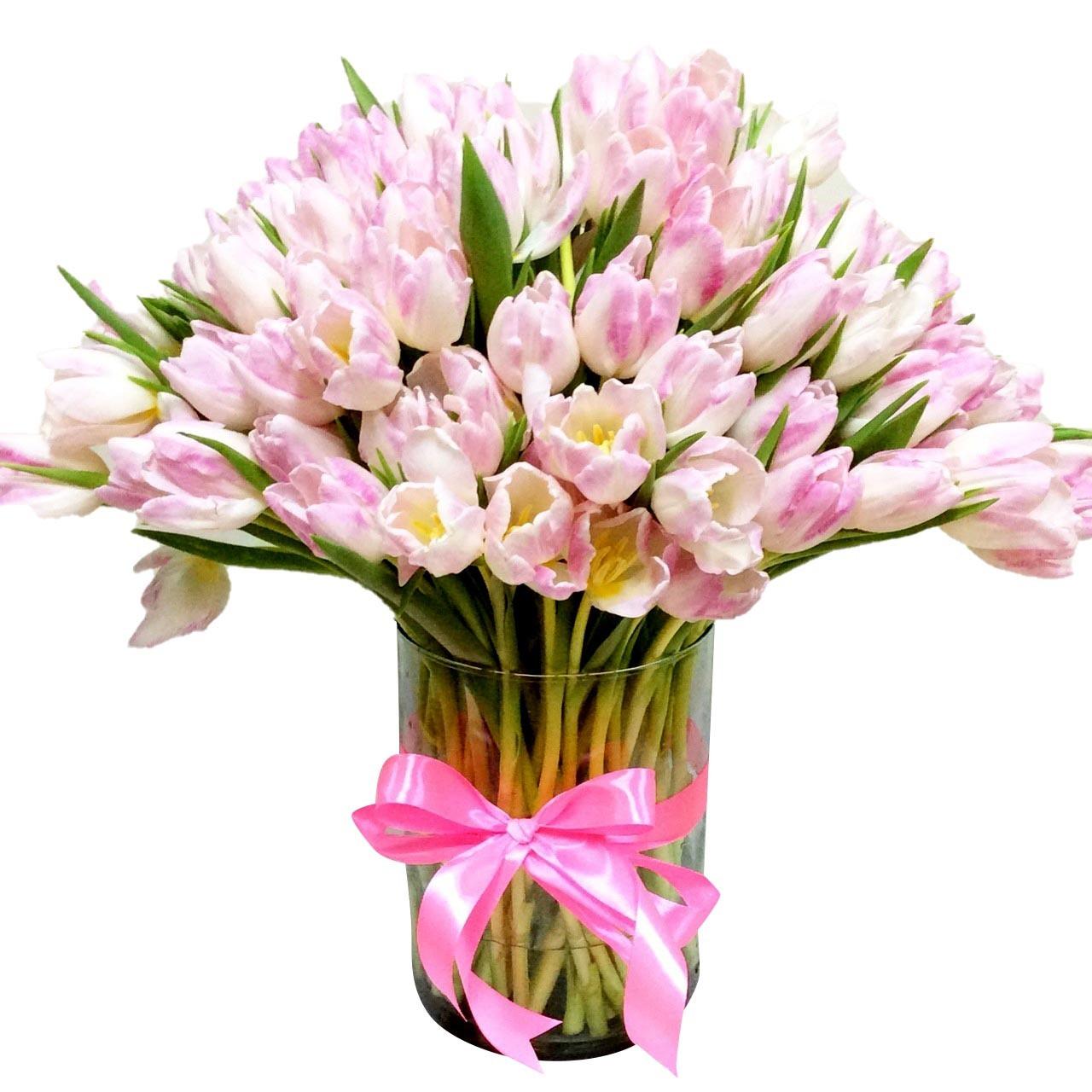 150 Tulips Giant Bouquet