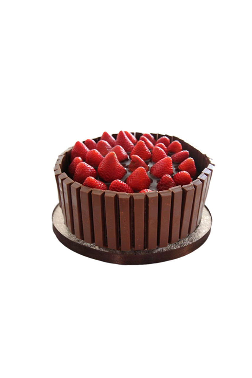 Strawberry Kit Kat Chocolate Cake Junior