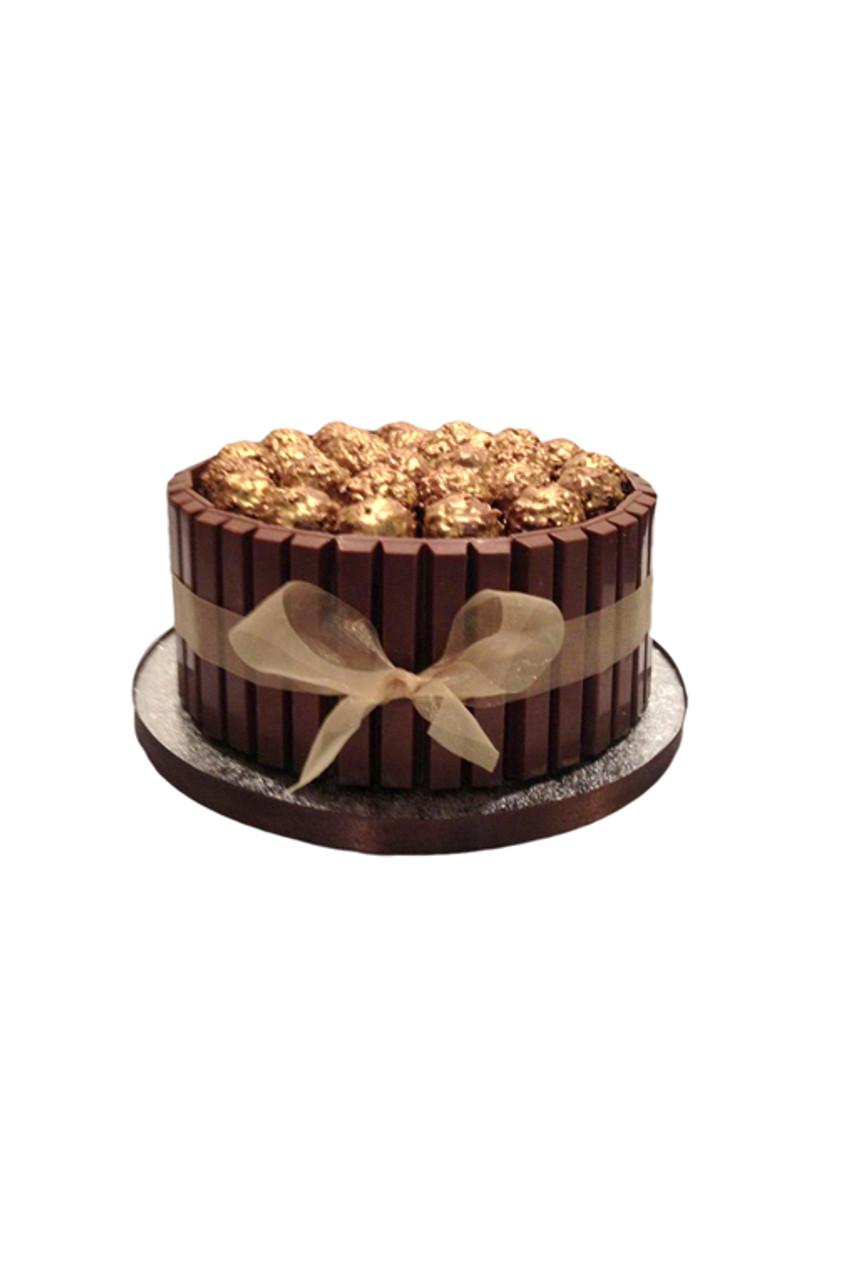 Ferrero Rocher Kit Kat Chocolate Cake Junior