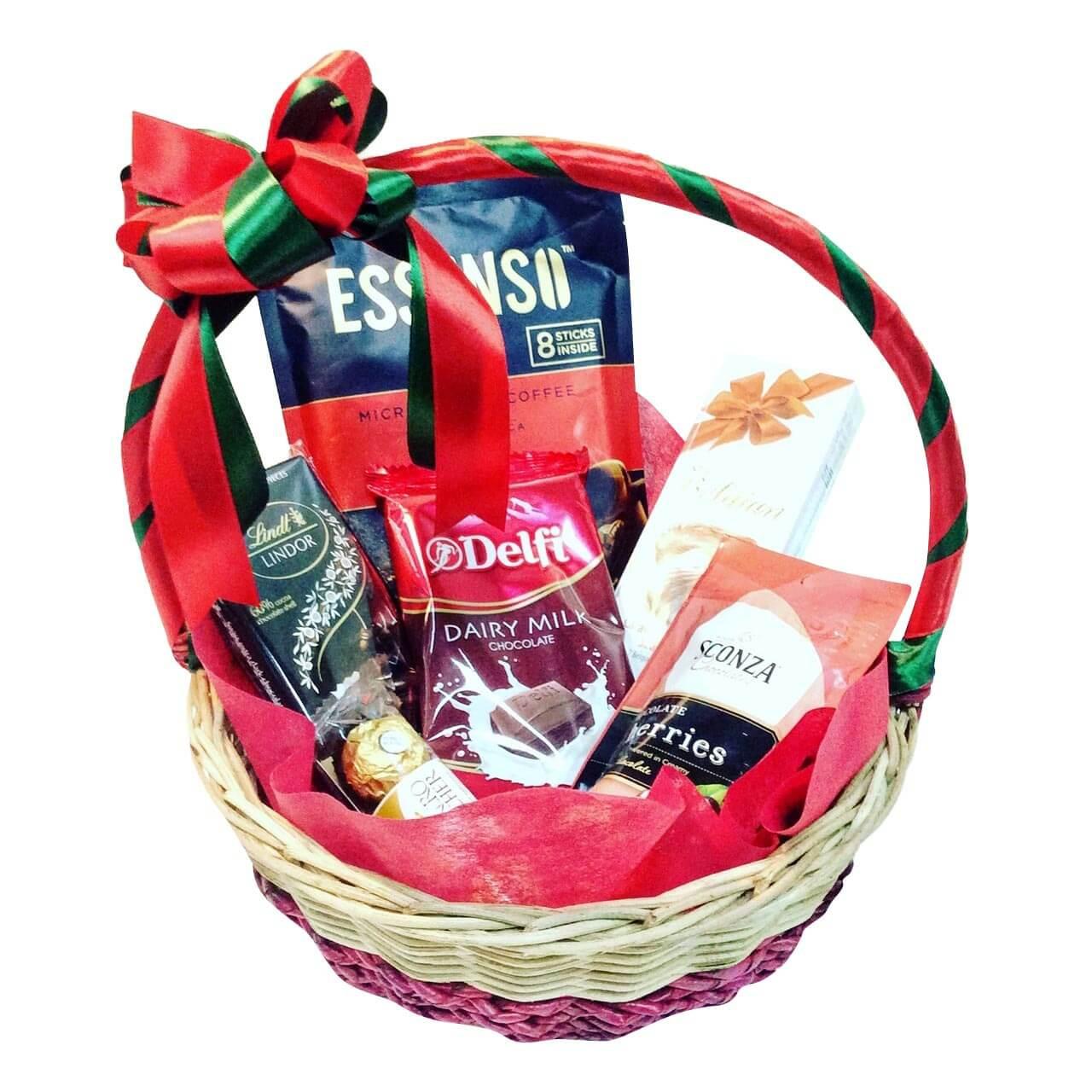 Coffee & Bonbons Basket