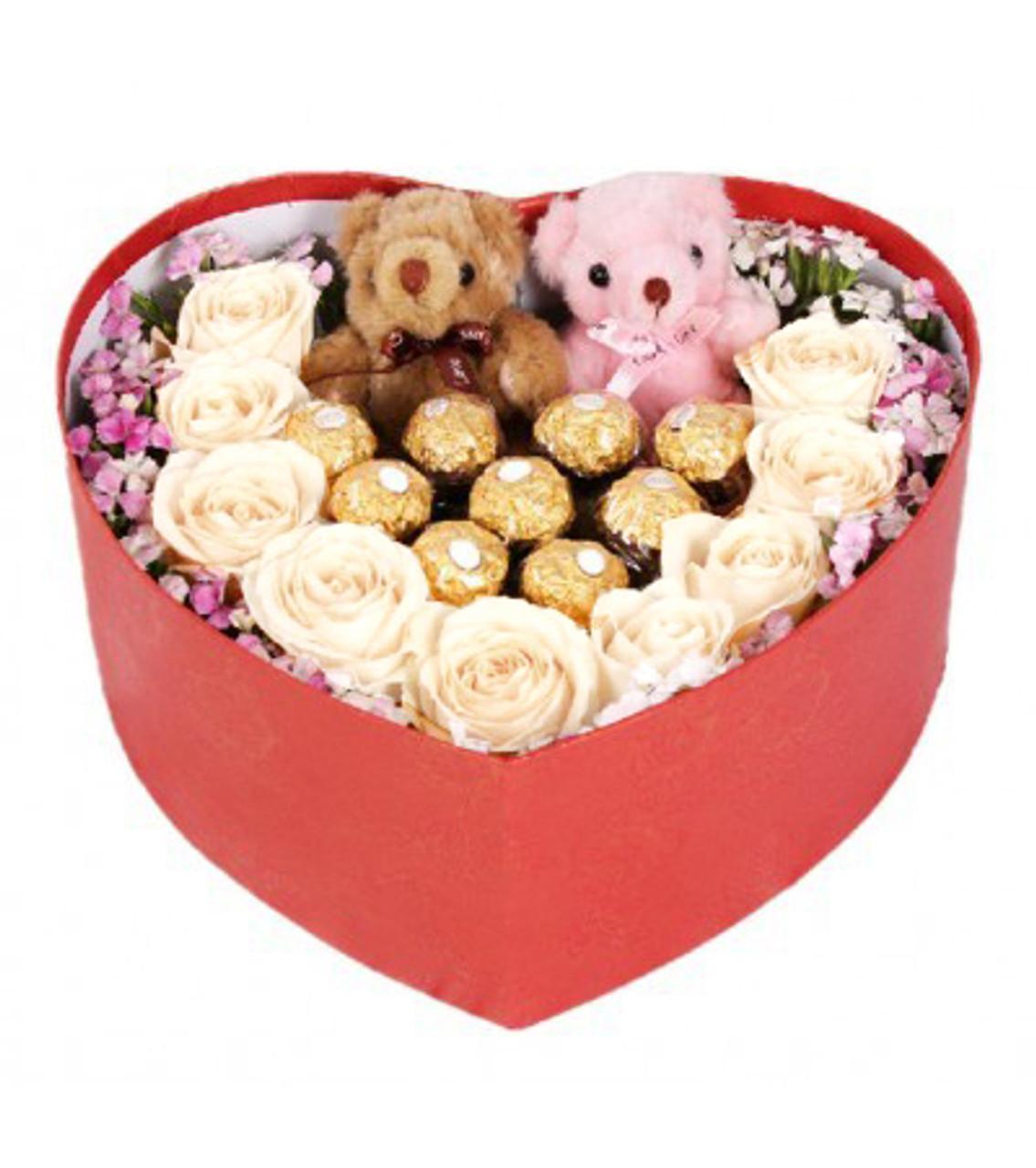 Candy Lovers Heart Box - Best Seller!