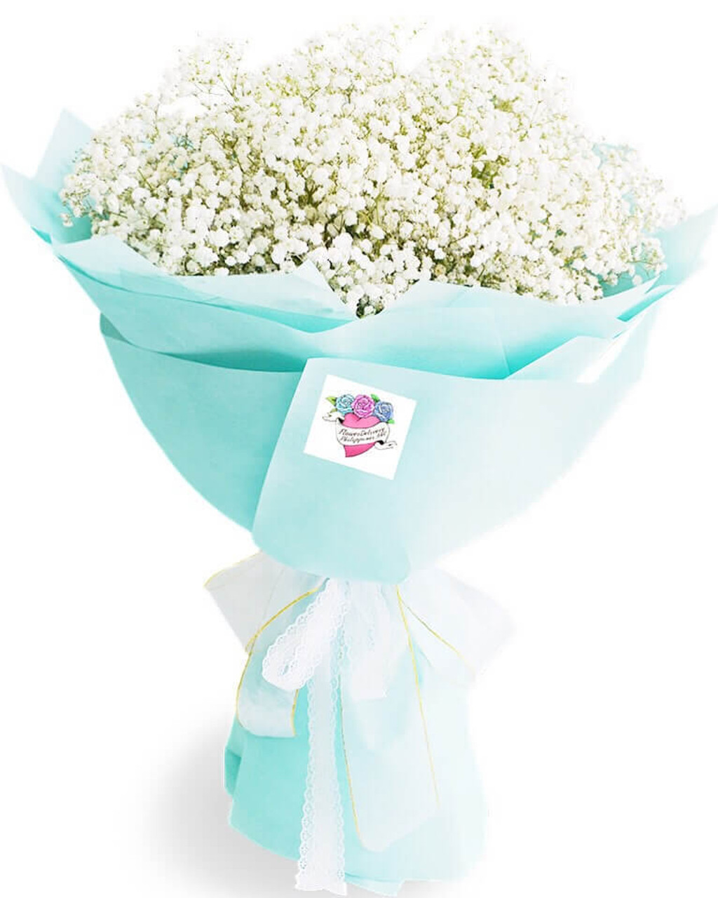 White Baby's Breath Million Star Giant Bouquet