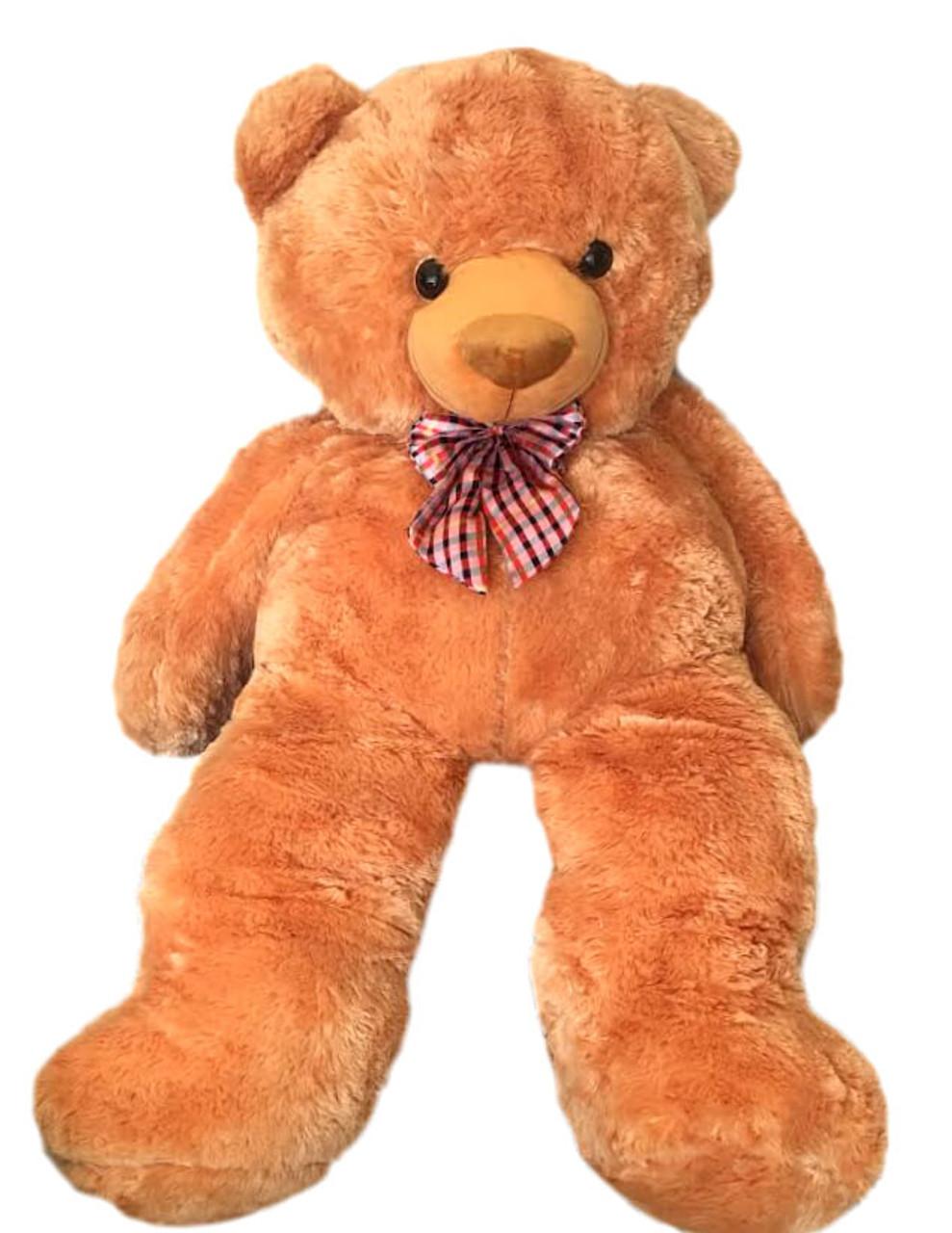 Human size 4'6 ft. Light Brown Teddy Bear - Best Seller