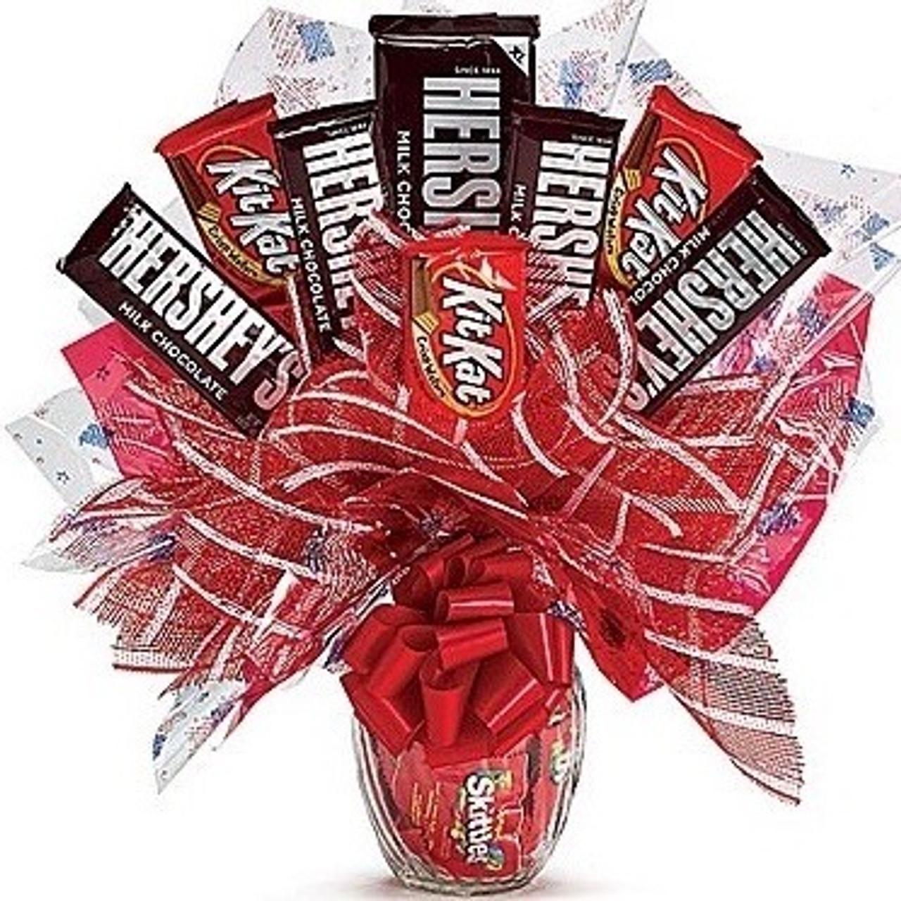 Hershey's & Kit Kat Candy Bouquet