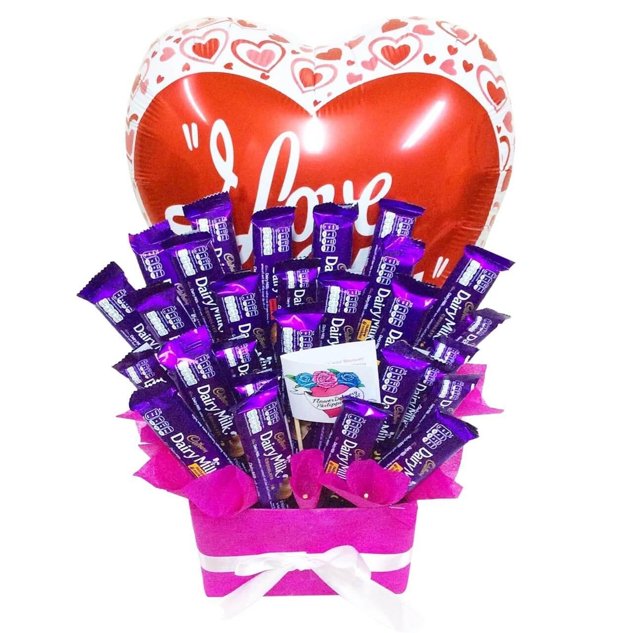I ❤️ Cadbury Candy Bouquet