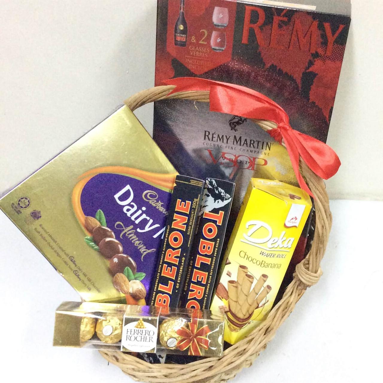 Remy & Chocolates Gift Basket