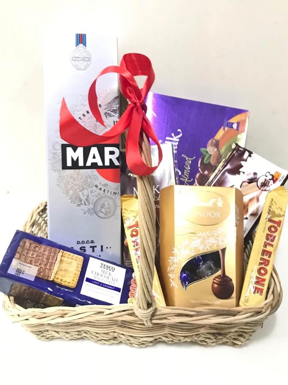 Perfect Sunday Gift Basket