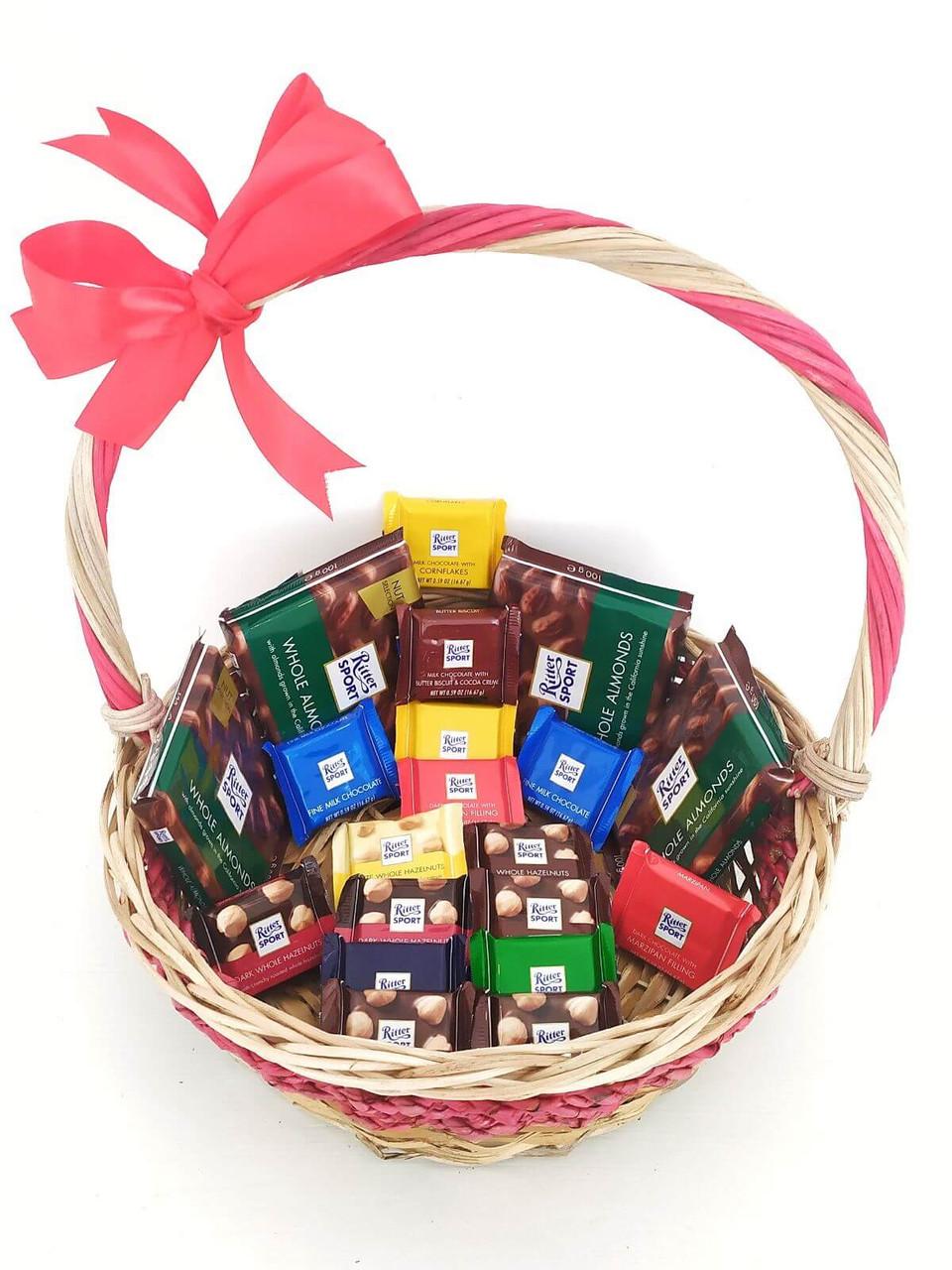 Ritter Sport Gift Basket