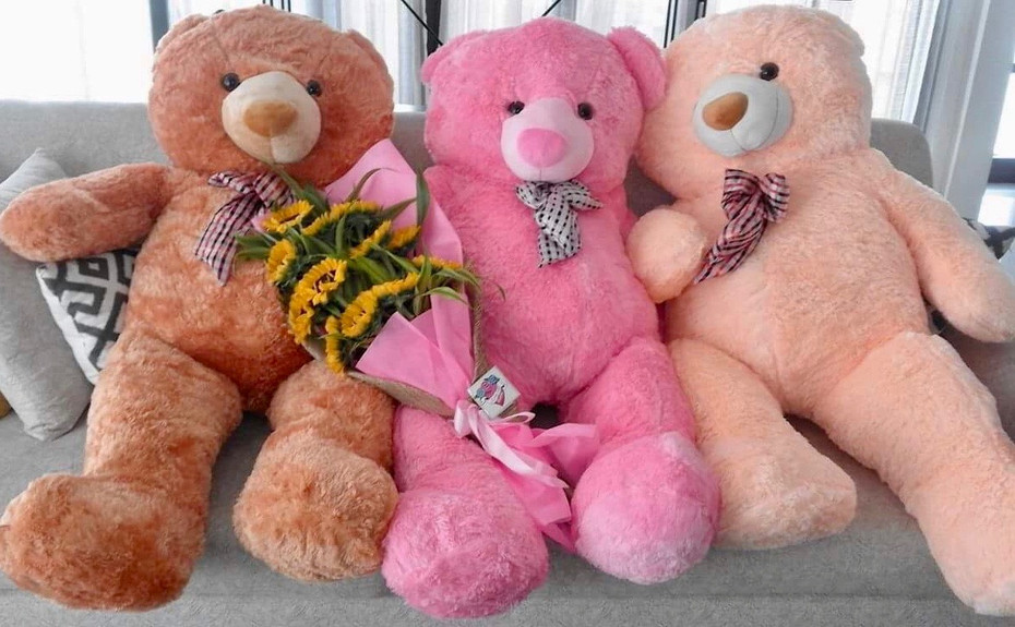 Send Life Size Giant Teddy Bear Philippines.Free Delivery Manila
