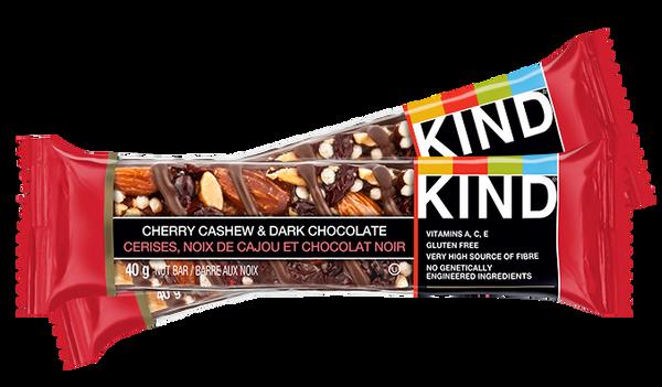 KIND Bars Cherry Cashew & Dark Chocolate multipacks.