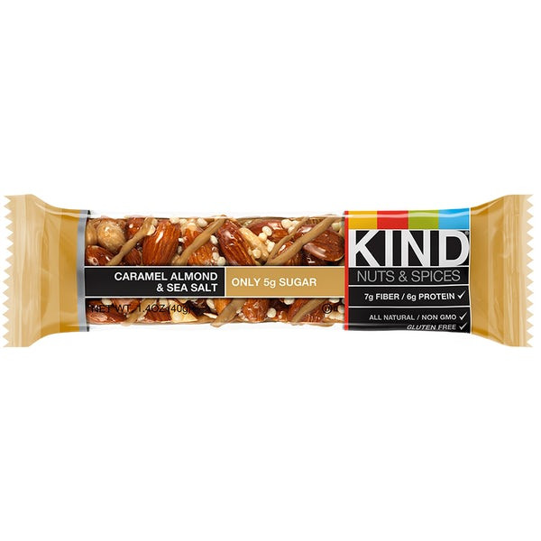 KIND Bars - Caramel Almond & Sea Salt multipacks.
