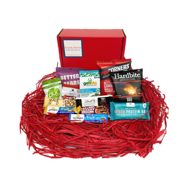 Valentine's Day Snack Box Delivery Vegan