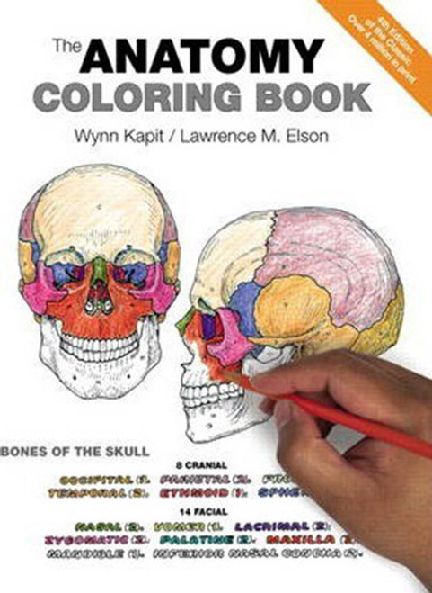 Human Anatomy Coloring Book 4th Ed