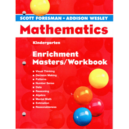 Scott Foresman Math 2005 Teacher Enrichment Kindergarten