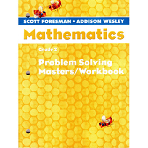 Scott Foresman Math 2005 Problem Solving Masters Workbook 2nd Grade