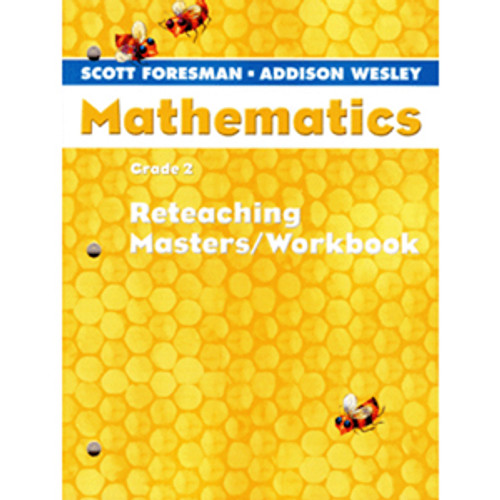 Scott Foresman Math 2005 Teacher Reteaching Masters Workbook 2nd Grade