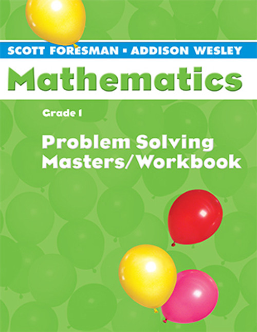 Scott Foresman Math 2005 Problem Solving Masters Workbook 1st Grade