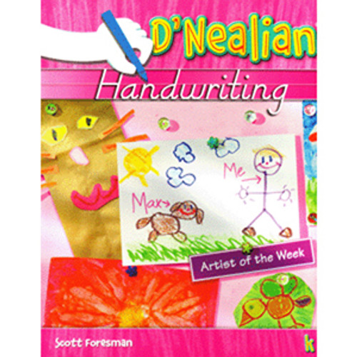 DNealian Handwriting Book 2006 Kindergarten