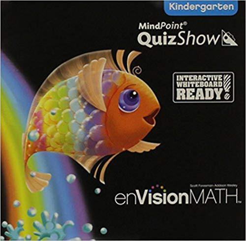 Envision Math 2011 Quizshow CD Kindergarten