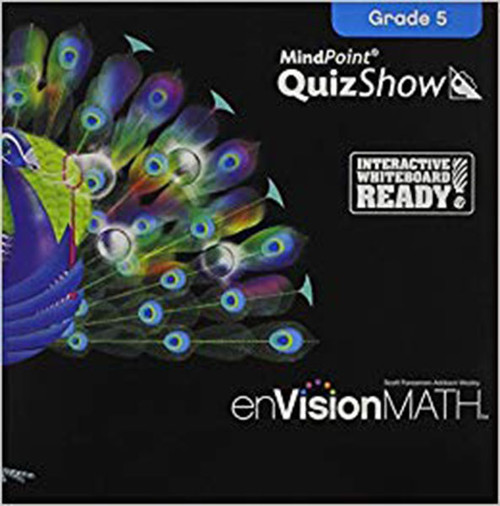 Envision Math 2011 Quizshow CD 5th Grade