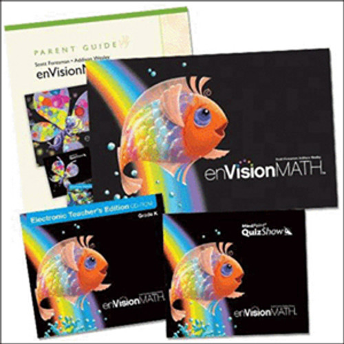 Envision Math 2011 Homeschool Bundle Kindergarten