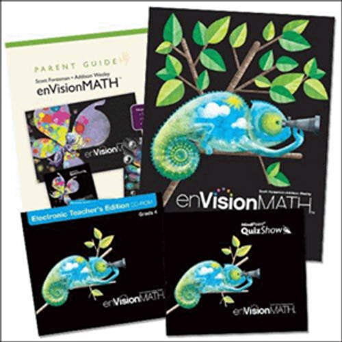 Envision Math 2011 Homeschool Bundle 4th Grade