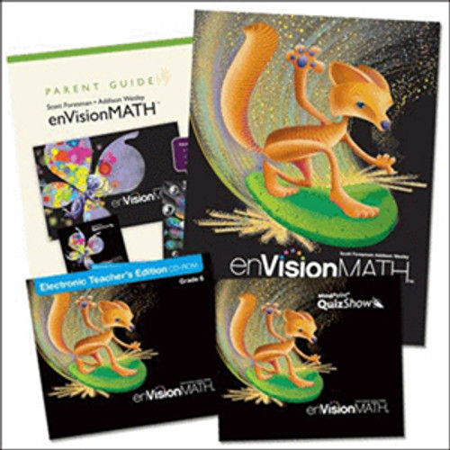 Envision Math 2011 Homeschool Bundle 6th Grade