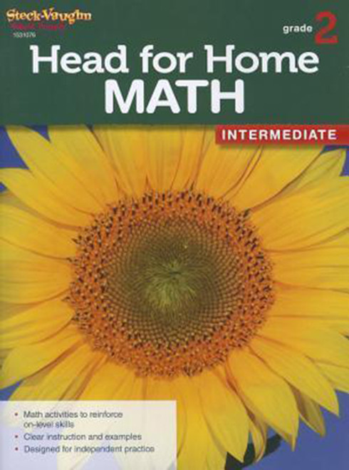 Head for Home Math Intermediate Workbook Grade 2
