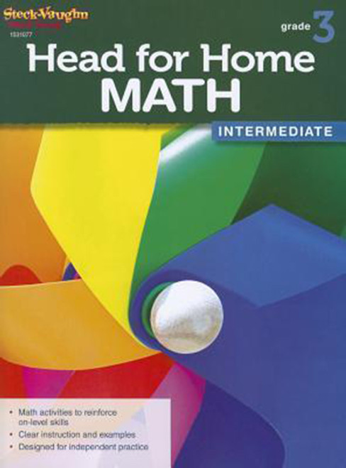 Head for Home Math Intermediate Workbook Grade 3
