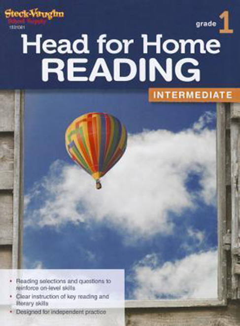 Head for Home Reading Intermediate Workbook Grade 1