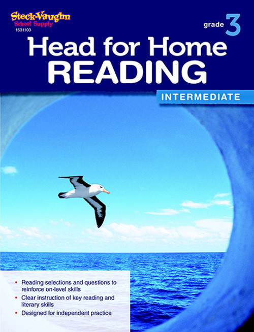 Head for Home Reading Intermediate Workbook Grade 3