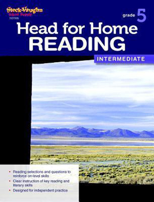 Head for Home Reading Intermediate Workbook Grade 5