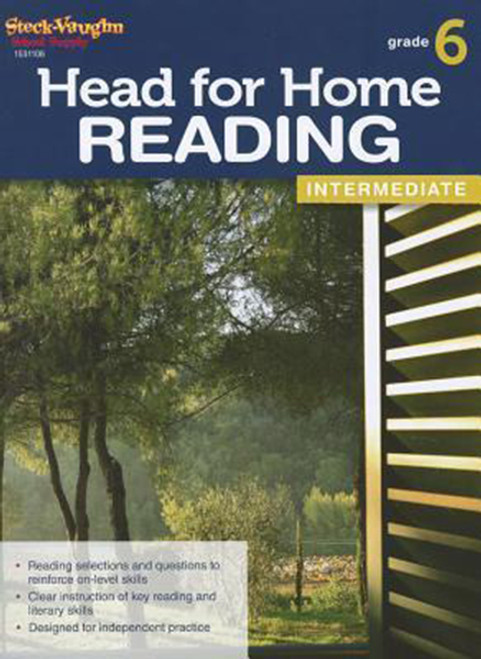 Head for Home Reading Intermediate Workbook Grade 6