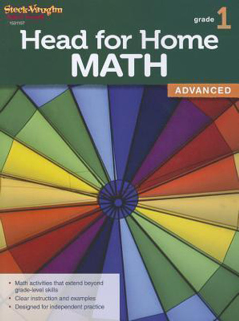 Head for Home Math Advanced Workbook Grade 1