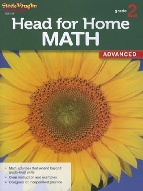 Head for Home Math Advanced Workbook Grade 2