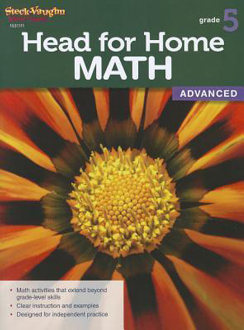 Head for Home Math Advanced Workbook Grade 5