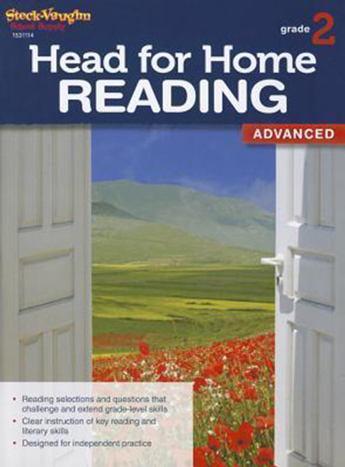 Head for Home Reading Advanced Workbook Grade 2