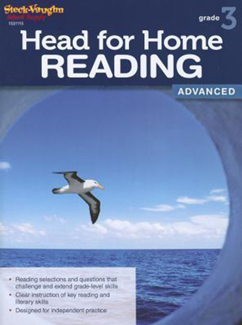 Head for Home Reading Advanced Workbook Grade 3