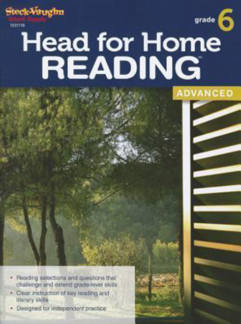 Head for Home Reading Advanced Workbook Grade 6
