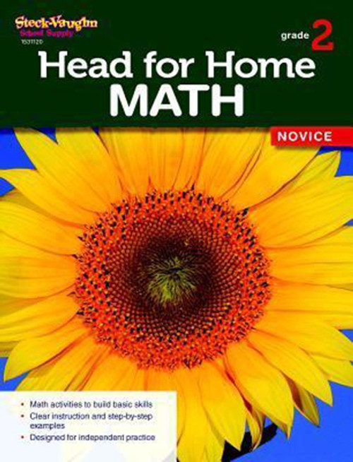 Head for Home Math Novice Workbook Grade 2